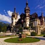 Les chateaux de la Roumanie: le Chateau de Peles