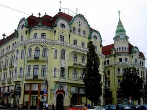 La ville de conte de fees: les palais de Oradea